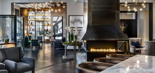 Fireplaces by European Home seen at St. Gregory Hotel Dupont Circle, Washington - H Series