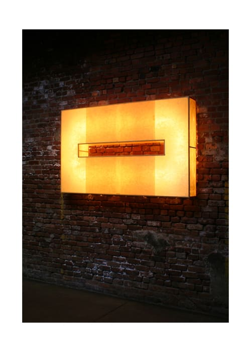 Lighting by John Wigmore seen at Frankies 457 Spuntino, Brooklyn - Light Sculptures