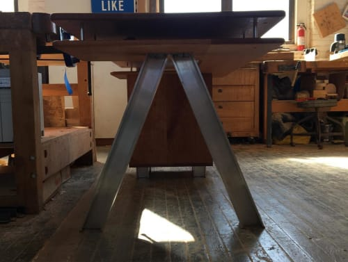 Tables by Lucca Zeray seen at Zeray Studio, Brooklyn - ILNYMTY Desk