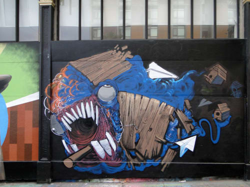 Malik Girley - Street Murals and Public Art