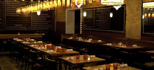 RN74, Restaurants, Interior Design
