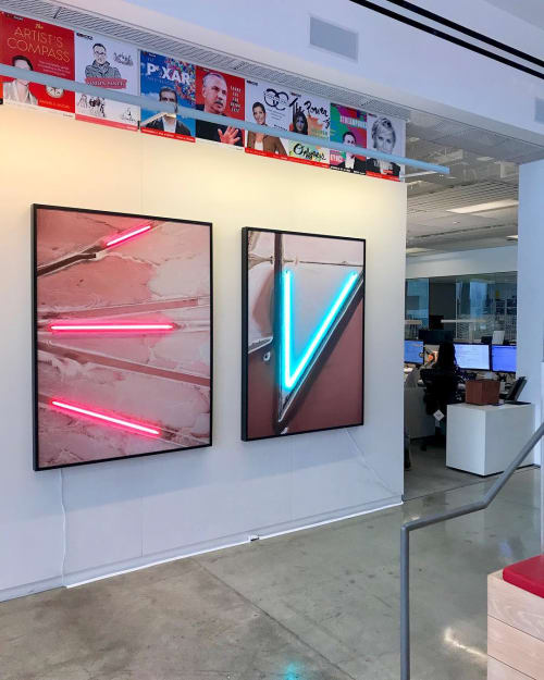 Photography by James Porschen seen at Gensler Los Angeles, Los Angeles - Neonscape Series