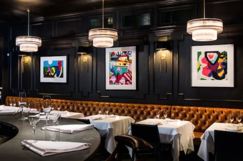 Paintings by Sam Friedman seen at Californios, San Francisco - Artwork