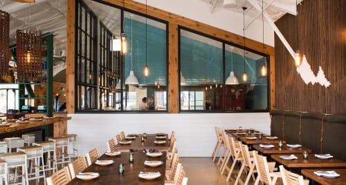 Campfire, San Diego, CA, Restaurants, Interior Design