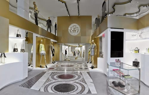Interior Design by G4 Group at Versace, Barcelona - Architectural Design