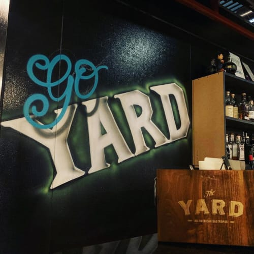 """Murals by John Maurice Muldoon seen at The Yard, Pittsburgh - """"Go Yard or Go Home"""""""