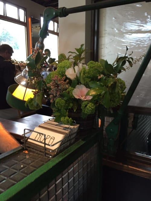Floral Arrangements by The Petaler seen at Nopa, San Francisco - Floral Arrangements
