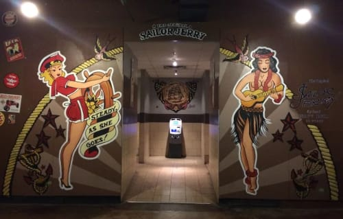 Murals by Christian Toth Art seen at Halifax, Halifax - Murals