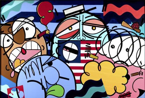 Timothy Curtis - Street Murals and Public Art