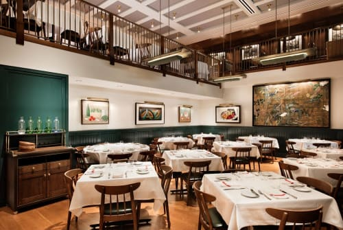 Union Square Café, Restaurants, Interior Design