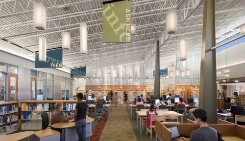 Castro Valley Library, Public Service Centers, Interior Design