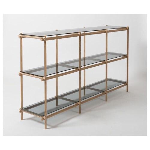 Furniture by Studio Thier & van Daalen seen at Kazerne Hotel, Eindhoven - Angled Cabinet