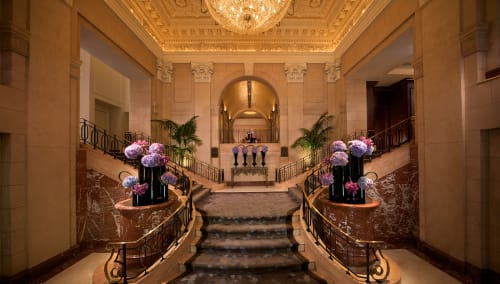 The Peninsula Hotel New York, Hotels, Interior Design