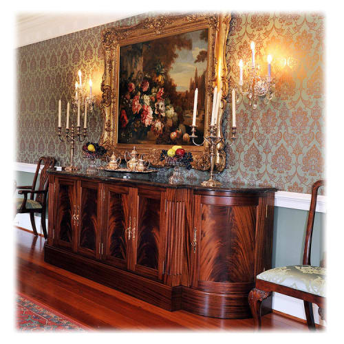 Furniture by Snow Woodworks seen at Private Residence, Middleburg - Mahogany Buffet
