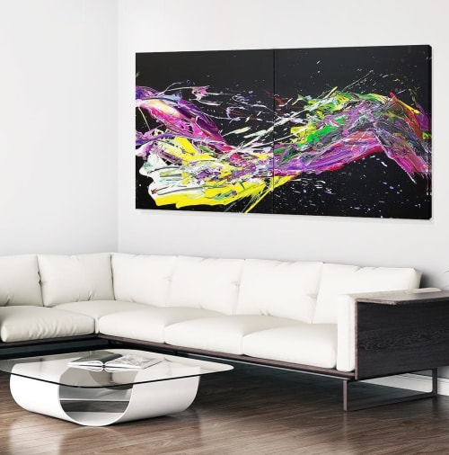 Paintings by Peter Triantos seen at Private Residence, Toronto - SP2 #71
