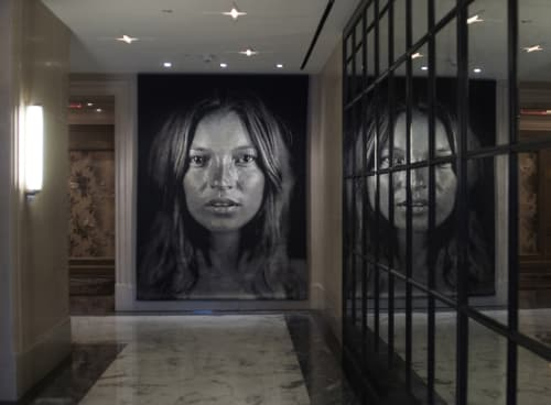 Art & Wall Decor by Chuck Close seen at The Surrey, New York - Kate