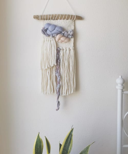 Macrame Wall Hanging by the meow co. seen at Private Residence, Los Angeles - Macrame Wall Hanging