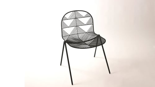 Chairs by Bend Goods seen at Campfire, San Diego, CA, Carlsbad - Stacking Betty