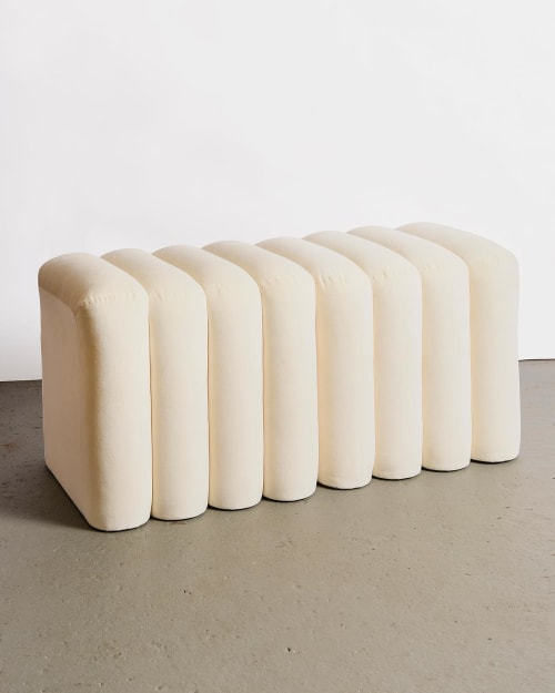 Chairs by Eny Lee Parker seen at Private Residence, Savannah - BB Stool