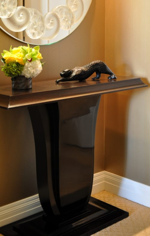 Tables by Plush Home by Nina Petronzio seen at Montage Beverly Hills, Beverly Hills - Astor Console