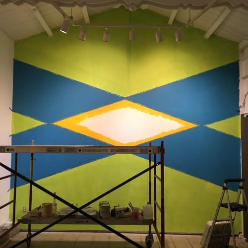 Murals by Brian Caraway seen at Chandra Cerrito Contemporary, Oakland - Approaching Zero