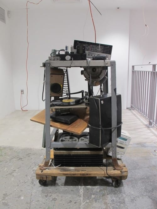 Sculptures by Calx Vive seen at Dover Street Market - Parallel Resistance: A Penchant Ampere (Ω) (sound sculptures)