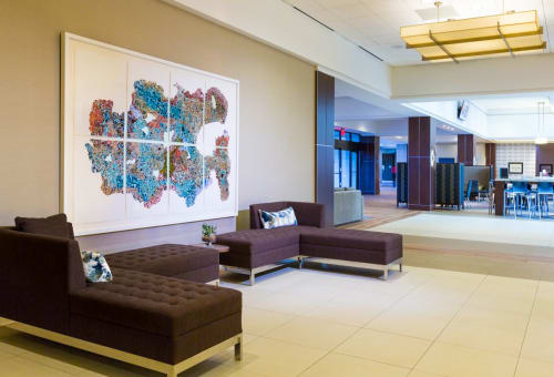 Art Curation by NINE dot ARTS at Minneapolis Marriott Southwest, Minnetonka - Art Curation