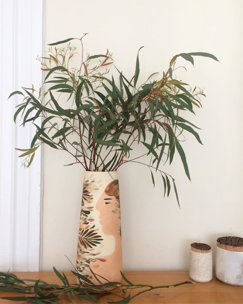Vases & Vessels by We Are Clay Studio seen at Private Residence, New York - Ceramic Botanical Vase