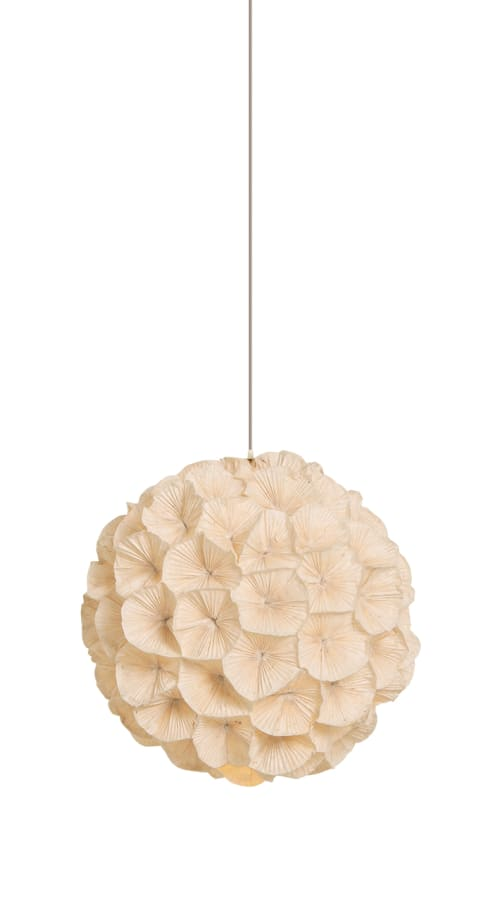 Lighting by Kenneth Cobonpue seen at Apaiser Flagship Showroom, Melbourne, Australia, Richmond - Poppy Hanging Lamp