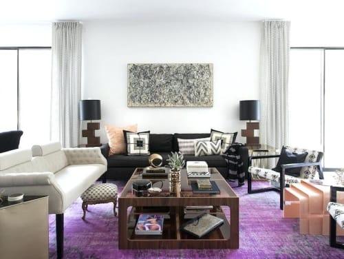 Interior Design by Stone Textile Studio seen at Elizabeth Mollen's Home, Austin - Interior Design