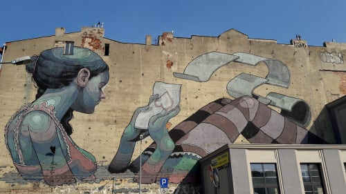 Aryz - Street Murals and Public Art