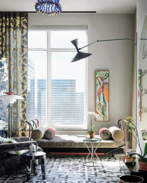 Curtains & Drapes by Twigs Fabrics & Wallpapers seen at Private Residence, New York - Ciro's Fabric