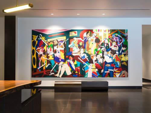 Art Curation by NINE dot ARTS at Dairy Block, Denver - Art Curation