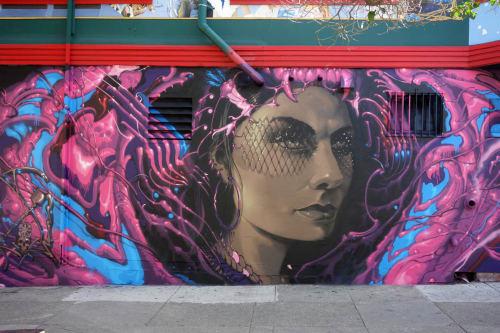 Lango Oliveira - Street Murals and Public Art