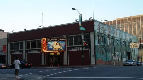 Mitchell Brothers O'Farrell Theatre, Urban Canvases, Interior Design