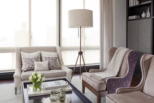 Lamps by ROOM seen at Private Residence, New York - Sputnik Floor Lamp