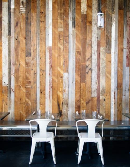 Reclaimed Barn Wood Wall By Arika