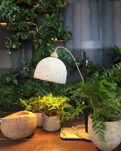 Lighting by Danielle Trofe Design seen at 1 Hotel Brooklyn Bridge, Brooklyn - MushLume Table Lamp