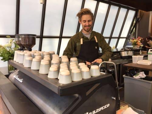 Cups by Nobuhitu Nishigawara at Nice Coffee, Los Angeles - Coffee Cups