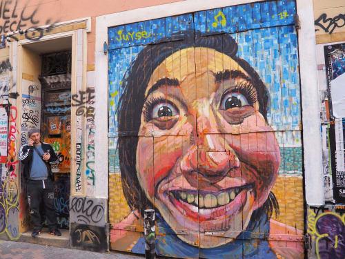 Street Murals by OCM Vibration seen at Cours Julien, Marseille - Mural