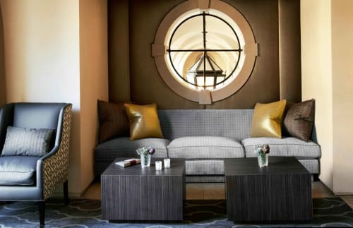 Tables by Plush Home by Nina Petronzio seen at £10 (Ten Pound Bar), Beverly Hills - Macassar Ebony Casegoods