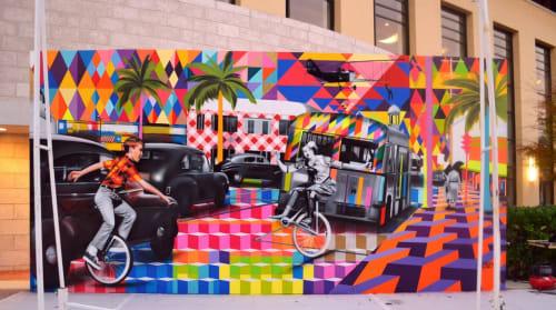 Eduardo Kobra - Street Murals and Public Art