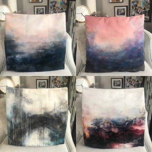 Pillows by Donna Giraud seen at Donna Giraud Art Studio, Vancouver - Pillowcase