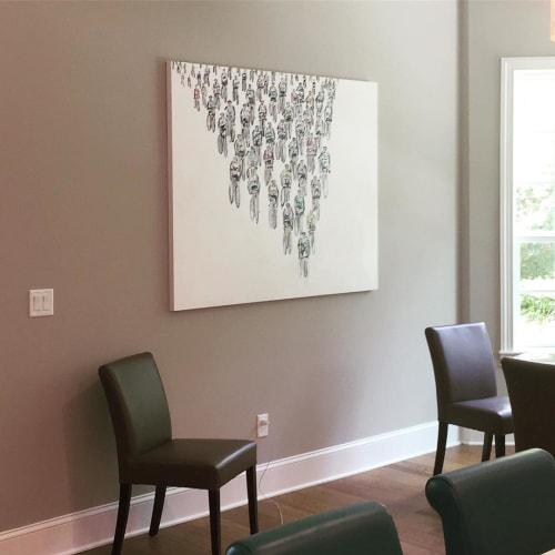 Paintings by Heather Blanton Fine Art seen at Private Residence, St. Augustine - #483_ In It To Win It