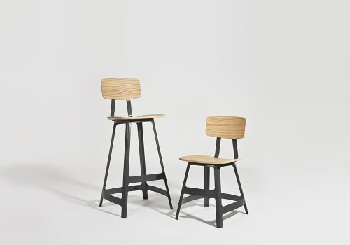 Chairs by Sean Dix seen at Al's Place, San Francisco - YardBird Stools