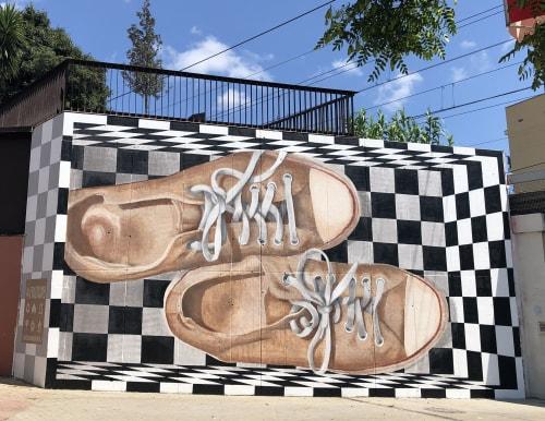 Street Murals by Medianeras > murales seen at Torrassa, L'Hospitalet de Llobregat - Mural