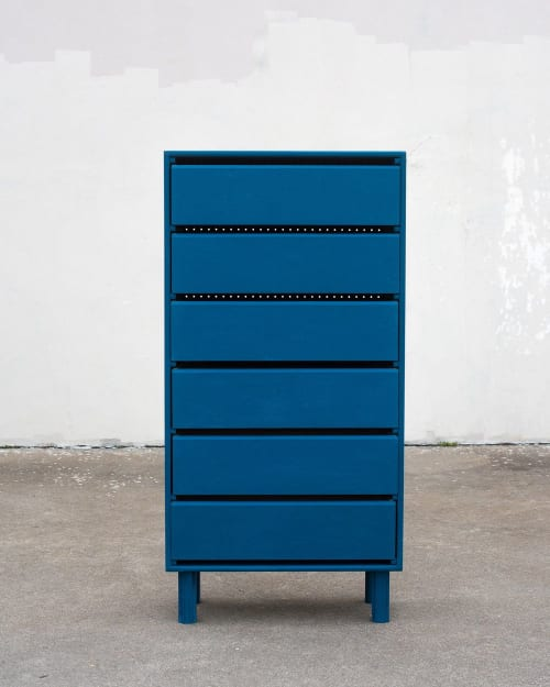 Furniture by Lucca Zeray seen at Zeray Studio, Brooklyn - 100% Dresser
