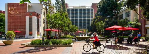 USC Viterbi School of Engineering, Public Service Centers, Interior Design