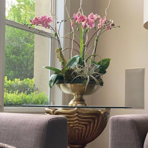 Floral Arrangements by Fleurina Designs seen at Private Residence, San Jose - Flower Arrangement