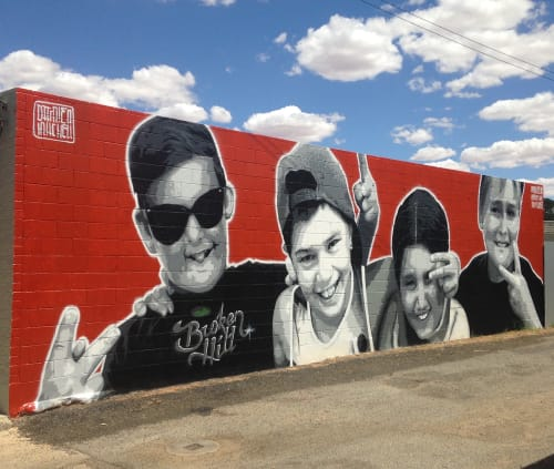 Damien Mitchell - Street Murals and Public Art